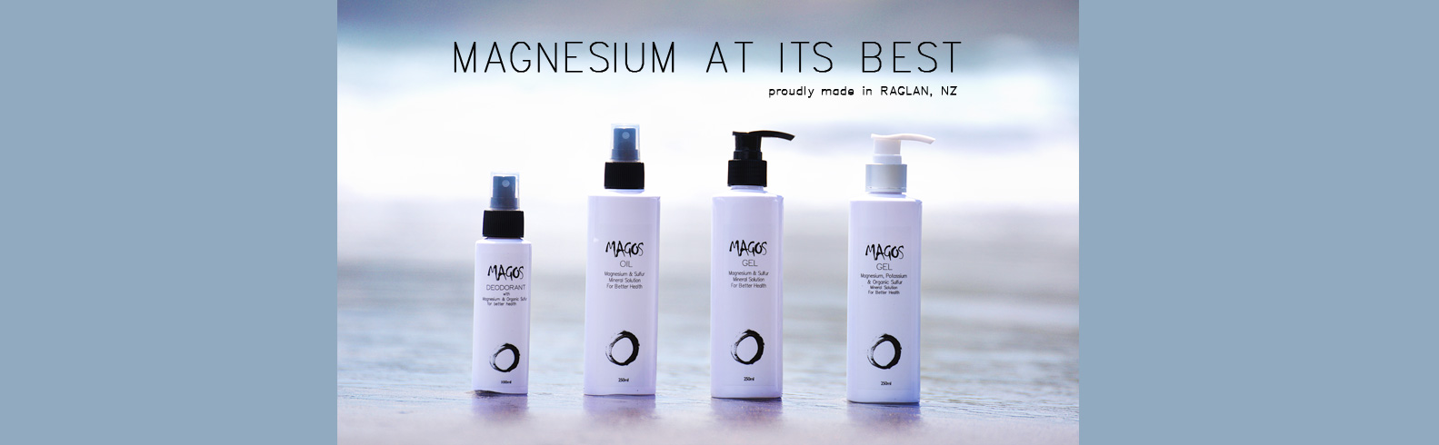 Magos magnesium solutions website header